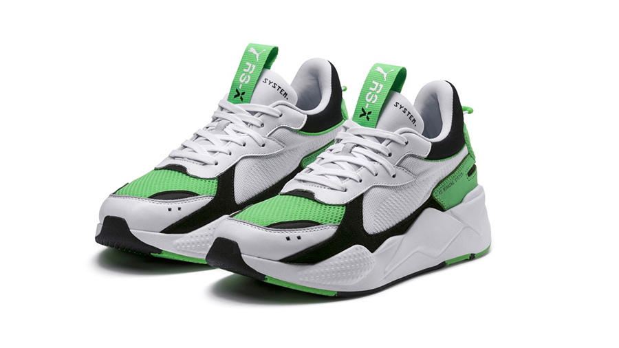 Now Available! PUMA RS-X Reinvention 'White/Irish Green ...