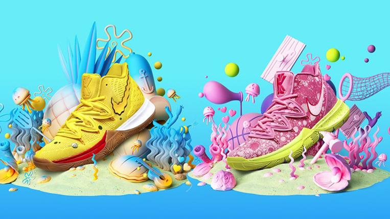 Release Date SpongeBob Nike Kyrie 5