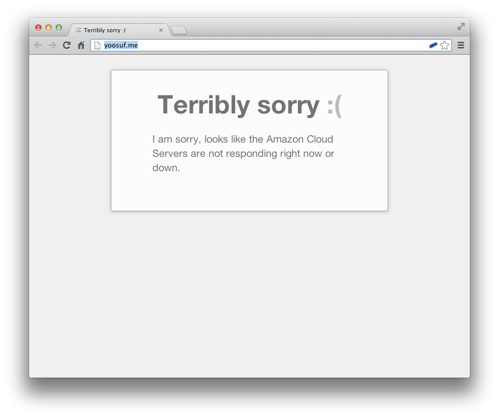 Better way to display WordPress Database Error