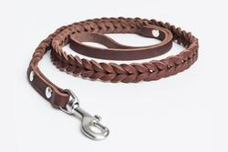 Central Park Leather Dog Lead