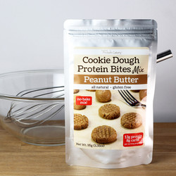 Peanut Butter Cookie Dough Protein Bites Mix - Gluten Free