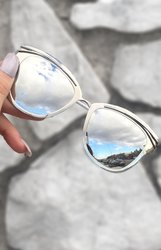 Candy Sunnies - Silver Mercury