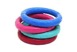 Rubber Wreath Dog Toy