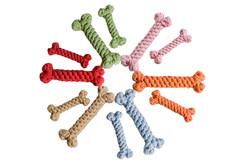 Cotton Rope Bone Dog Toy