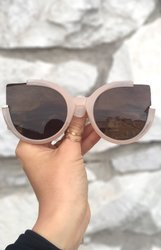 Chloe Sunnies - Nude/Brown