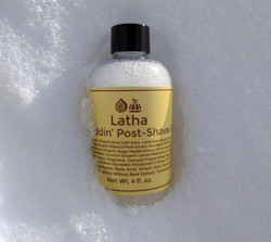 Latha Figgy Puddin' Alcohol-Free Post-Shave Splash