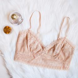 Blushing Lace Bralette