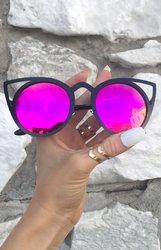 KittyKat - Black/ Hot Purple