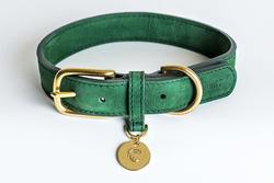 Cloud7 Tiergarten Leather Dog Collar