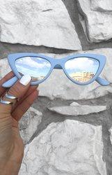 Matrix sunnies - Matte Blue/Silver