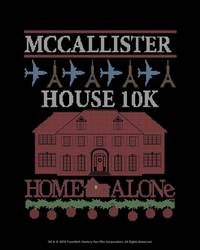 McCallister House 10K Athletic Top by Raw Threads