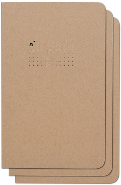 Yotti — Journal (3 Pack), 96 Dot Grid Pages. Best gift for designer http://www.yotti.co/gifts/journal-3-pack-96-dot-grid-pages