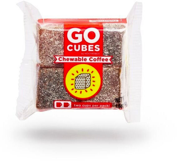 Yotti — Go Cubes Chewable Coffee. Best gift for designer http://www.yotti.co/gifts/go-cubes-chewable-coffee