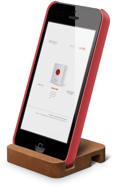 Yotti — Wood Stand for iPhone SE/5/5S, iPad Mini . Best gift for designer http://www.yotti.co/gifts/elago-wood-stand-for-iphone-se-5-5s-ipad-mini