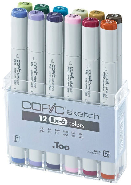 Yotti — 12-Piece Sketch EX-6 Set. Best gift for designer http://www.yotti.co/gifts/12-piece-sketch-ex-6-set