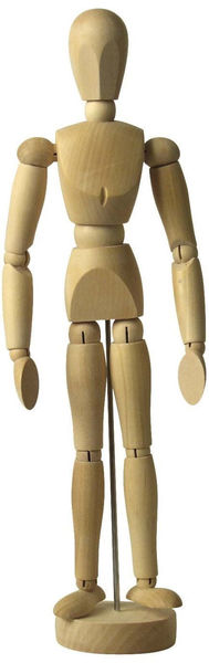 Yotti — Human Mannequin Body Articulated. Best gift for designer http://www.yotti.co/gifts/human-mannequin-body-articulated
