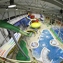 Aquario Waterpark dell'interno si apre a Omsk, Russia