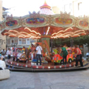 Happy Cross Carousel Ride
