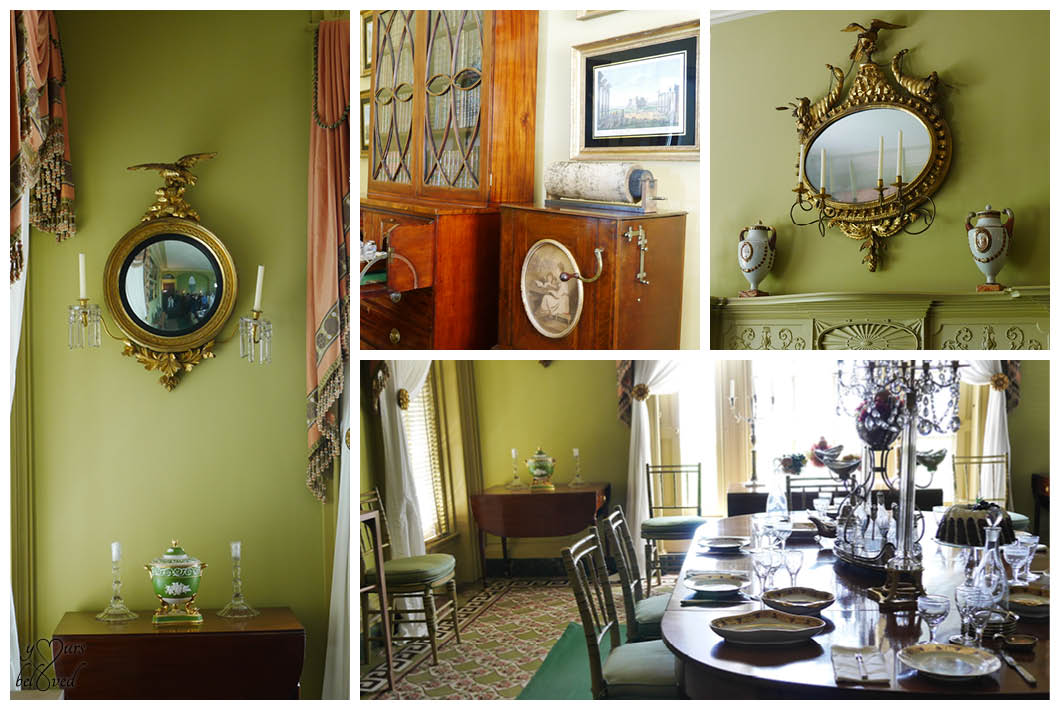Boscobel dining room