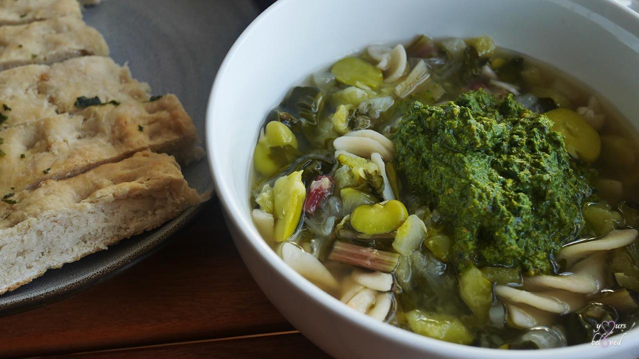 Ligurian minestrone
