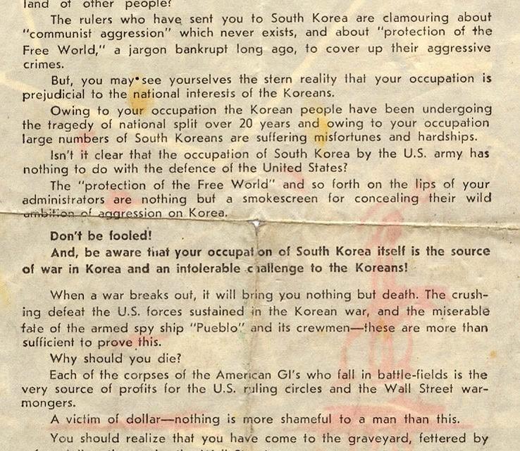 NK propaganda