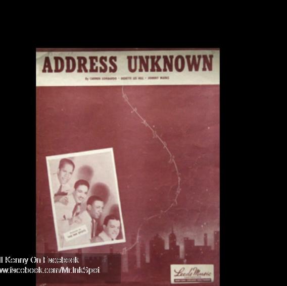 addressunkown-album