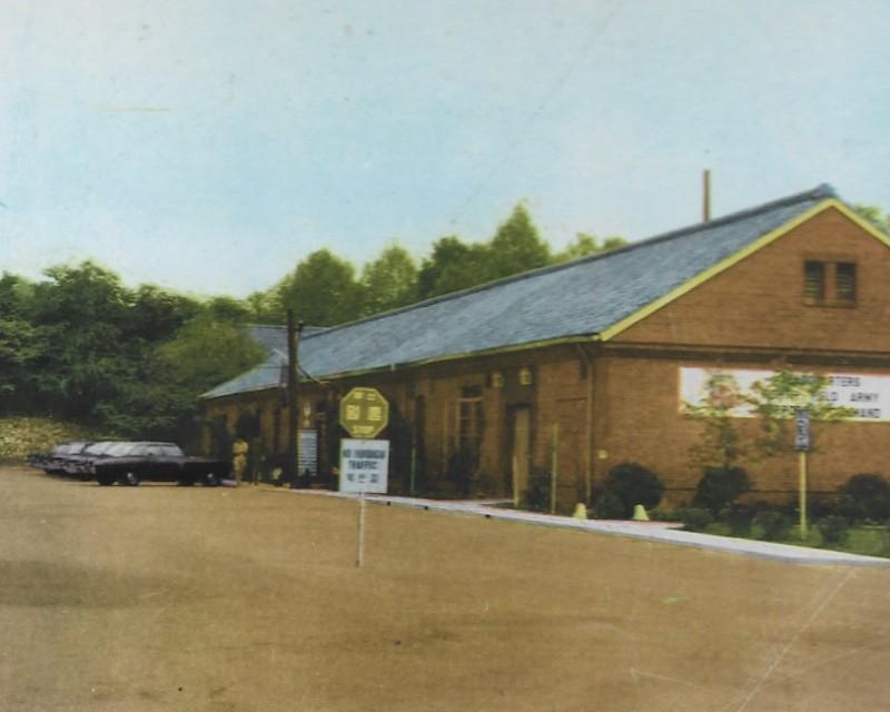 HQs 8th FASCOM bldg Main Post 1968