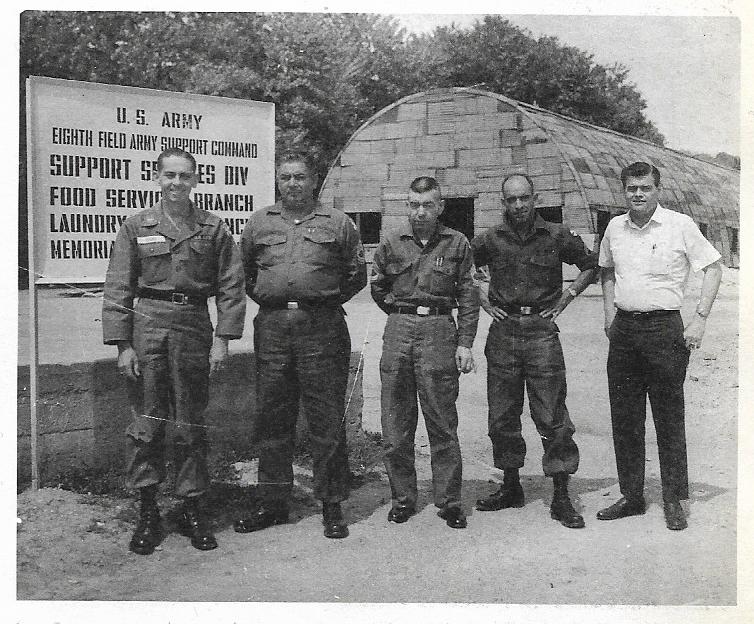 HQ Co 8 FASCOM Food Service Br 1968