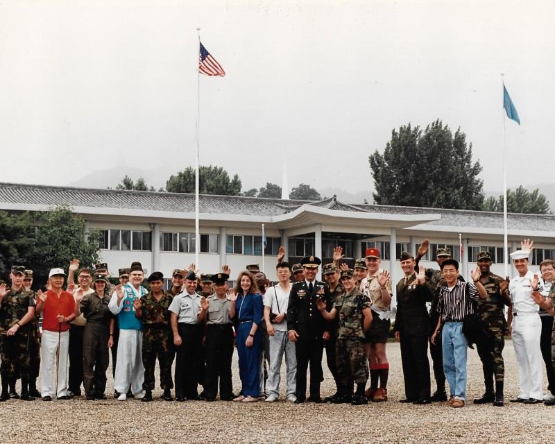 UNC:CFC:USFK:EUSA staff late 80s