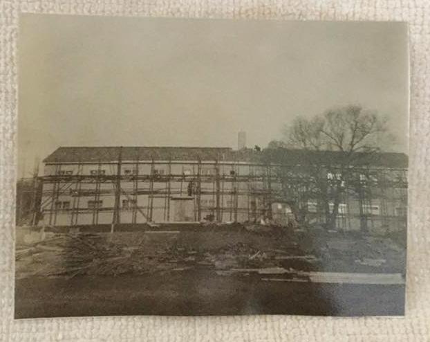 SandiHaddockDebrand_1963-64SAHS_NewDormUnderConstruction
