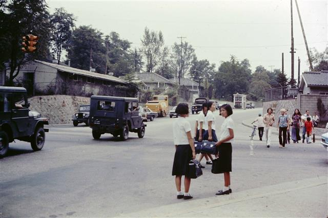 SMALL-Entrance to South Post, Yongsan, 1970