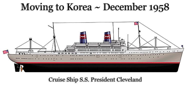 1958December-movingToKorea-ship