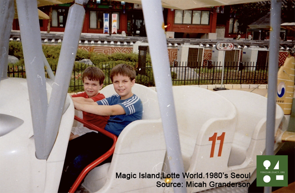 my brother and myself at Magic Island-Low