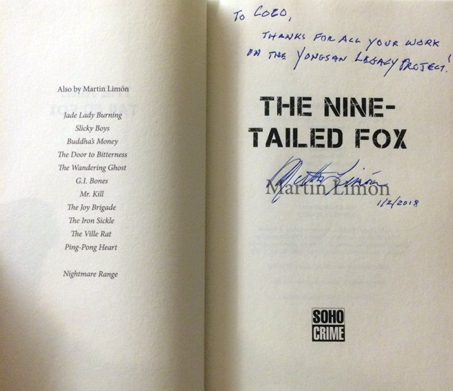 The nine tailed fox- signed