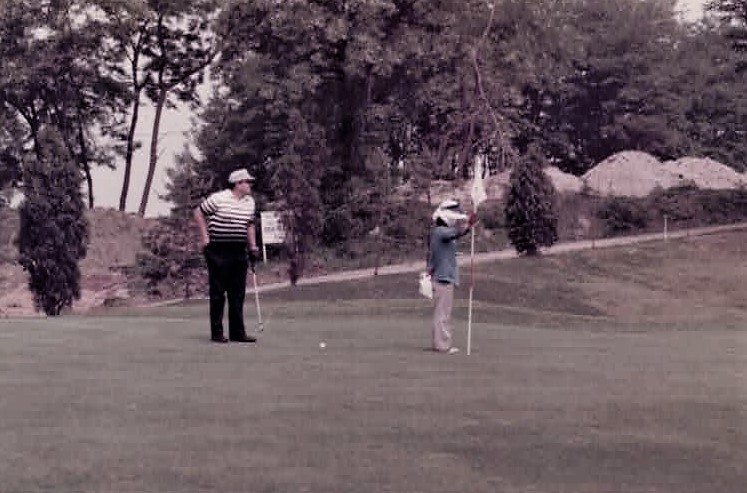 8th Army GC first green 1977