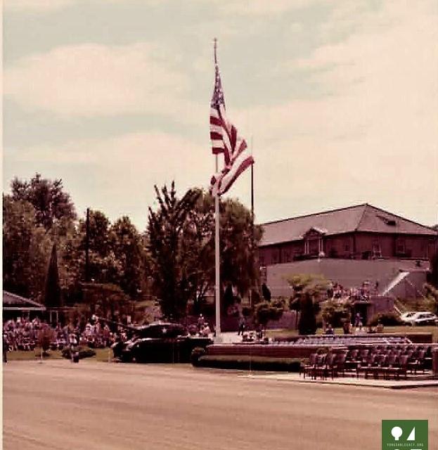 July4_1976 Bicentenial celebration Yongsan Main Post