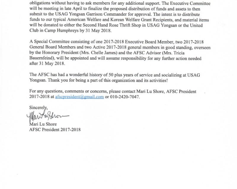 2018 AFSC Membership Letter Dissolution-2