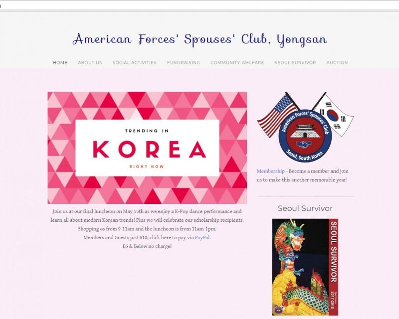 AFSCwebsitePortal