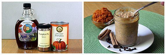 Pumpkin Pie Refrigerator Oatmeal