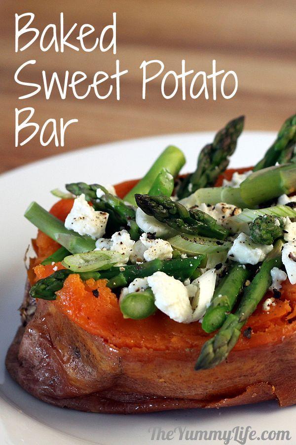 Baked Sweet Potato Bar
