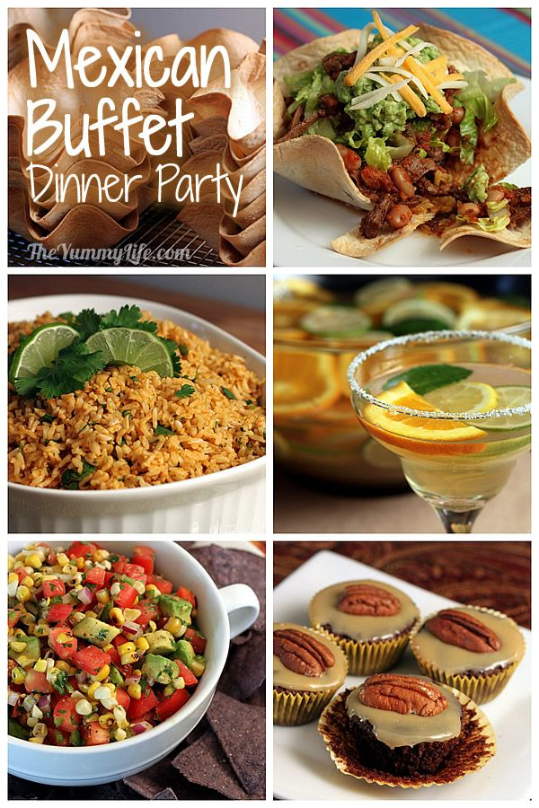 mexican dinner party menu recipes