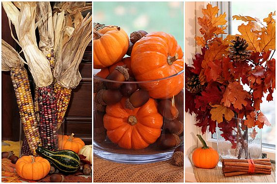 Easy fall decor for Autumn decoration