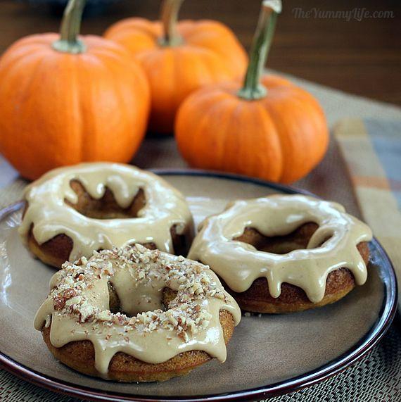 Multi-Grain Pumpkin Donuts With Spiced Sugar Recipes — Dishmaps