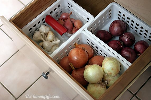 How To Store Onions, Garlic, U0026amp; Shallots. This Easy Method Keeps Them
