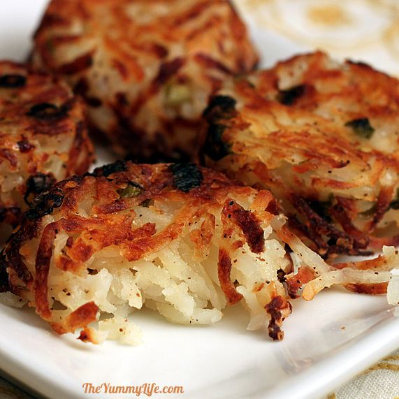 Parmesan Hash Brown Cups, TastyFunRecipes.com, Easy Recipes, fast recipes