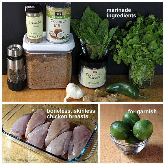 Thai Herb Chicken