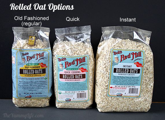 Healthy Instant Oatmeal Packets For Hot Refrigerator Oats