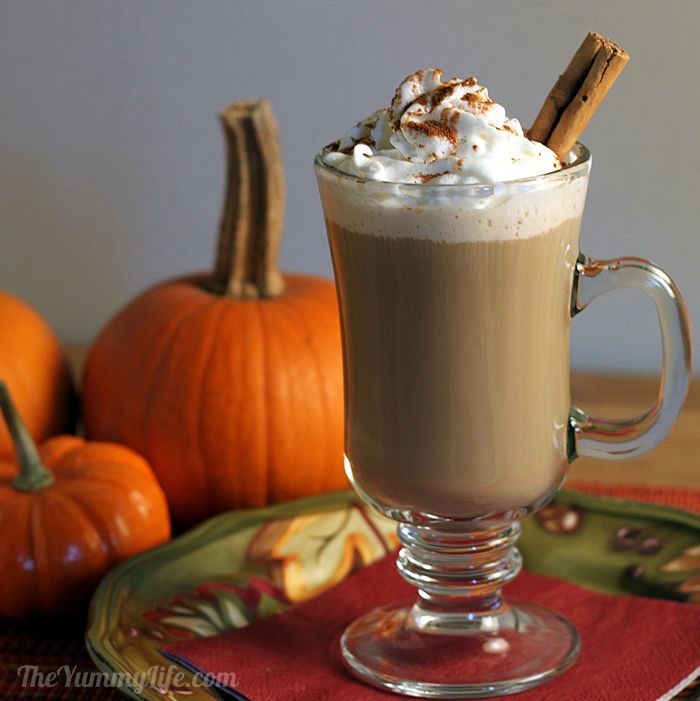 Slow Cooker Maple Pumpkin Spice Lattes