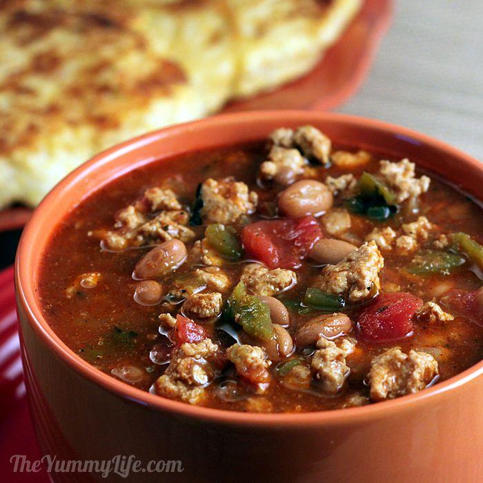 Quick & Healthy Turkey Chili