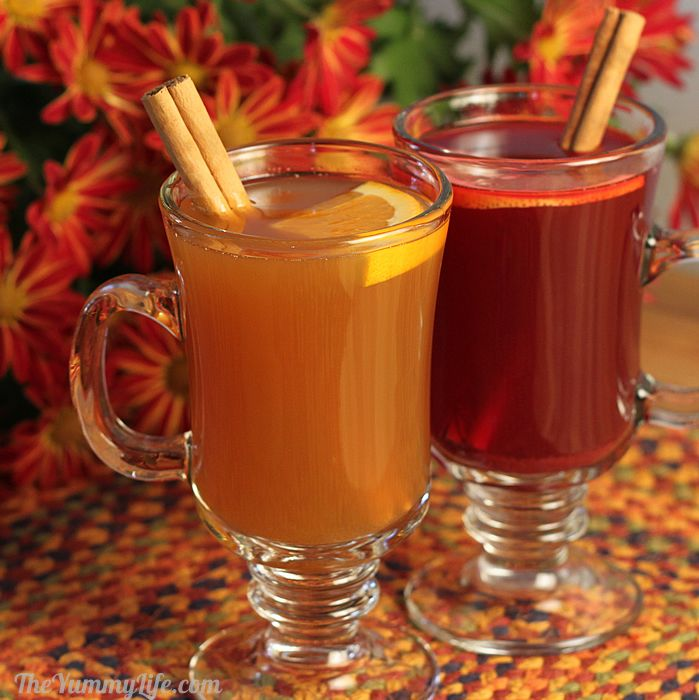 Spiced hot drink mix recipe for Tea and liquor recipes